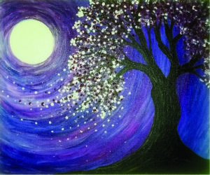 """""""Blossoming Cherry Tree,"""" by Libbie Winslow"""