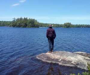 PWA's summer schedule includes several opportunities to enjoy the trails of its nature preserves throughout the Pemaquid Peninsula including Pemaquid Pond Preserve in Bremen, seen here being enjoyed by Chris Roberts. (Photo courtesy Jenn Hicks)