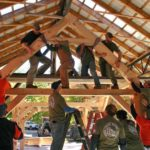 Summer Timber-Frame Workshop at HVNC