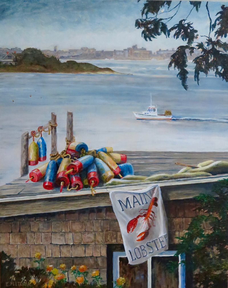 """Maine Lobster,"" by Elaine Fletcher"