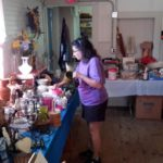Old and New at Whitefield Rummage Sale on July 4
