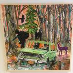 Review: Michael Blaze Petan's Art Pulls Back the Curtain on Rural Maine