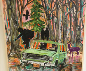 """Ollie in the Woods,"" by Michael Blaze Petan. (Christine LaPado-Breglia photo)"