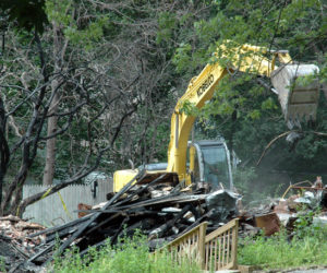 Reed Mansion Cleanup Underway, Owner Reveals Plans