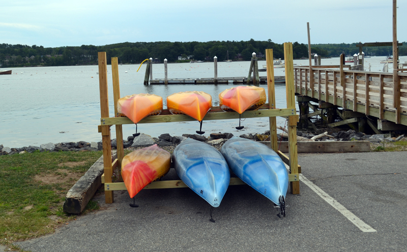 Maine Kayak has opened a new location in Wiscasset, offering rentals of single and tandem kayaks to paddle the Sheepscot River. (Abigail Adams photo)