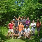 Volunteers Build Bog Bridges on LA XC Trails