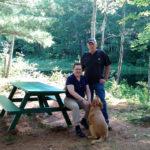Bristol Resident Donates Picnic Table to Gary's Island