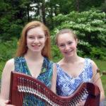 Harp and Marimba in Church Music Program