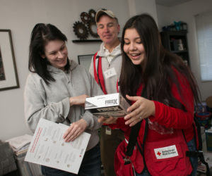 Red Cross and Waldoboro Fire Department Partner to Install Free Smoke Alarms