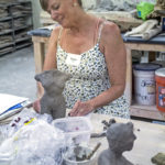 Watershed Organizes Figurative Sculpture Workshop for K-12 Art Educators
