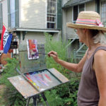 Marimbas, Craft Show, Plein Air Artists at Wiscasset Art Walk