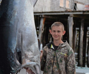 Bristol 12-Year-Old a Tuna Fishing Legend