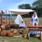 Re-Enactors Capture Atmosphere of 17th Century at Colonial Pemaquid