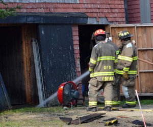 Passerby Helps Save Damariscotta Barn, Home From Fire