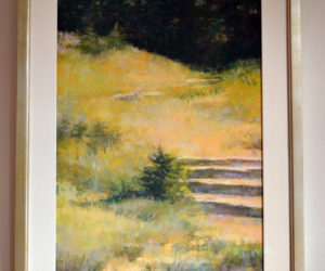 """Kathleen Galligan's pastel """"Taken By the Light."""" (Christine LaPado-Breglia photo)"""
