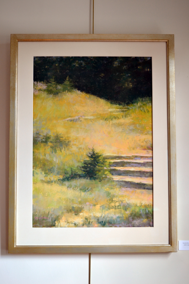 "Kathleen Galligan's pastel ""Taken By the Light."" (Christine LaPado-Breglia photo)"