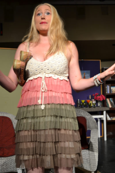 "Brittany Wallingford plays Nina in the River Company production of ""Vanya and Sonia and Masha and Spike."" (Christine LaPado-Breglia photo)"