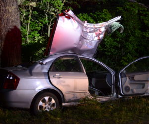 Cushing 21-Year-Old Flown to Hospital After Waldoboro Crash