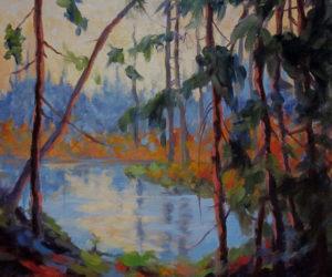 """""""Pond Light,"""" by Sally Loughridge. (Image courtesy Sally Loughridge)"""