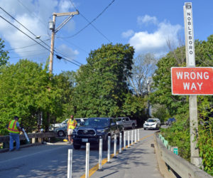 Feedback Sought on Traffic Bollards in Damariscotta Mills