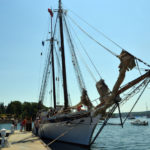 South Bristol Schooner Harvey Gamage Makes Stop Back Home