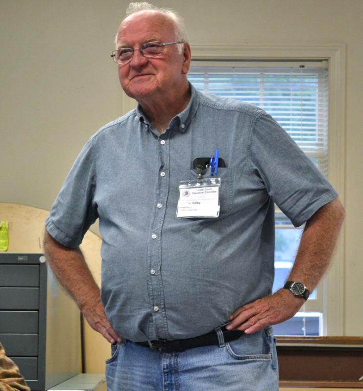 Gordon Colby (Abigail Adams photo, LCN file)