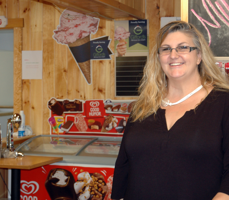 Judy Heaton and her husband, Dave, have reopened the store at Kaler's Corner after two months of preparations. (Alexander Violo photo)