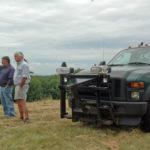 Solar Companies Visit Waldoboro Landfill