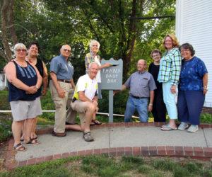 Community Prayer Drop Box at Edgecomb Community Church