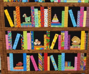 Quilt Raffle at Library