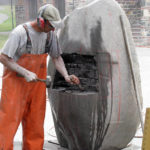 Sculptors Arrive for Maine Coast Stone Symposium