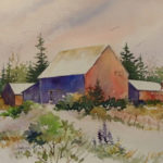 Watercolorists at Saltwater Artists Gallery