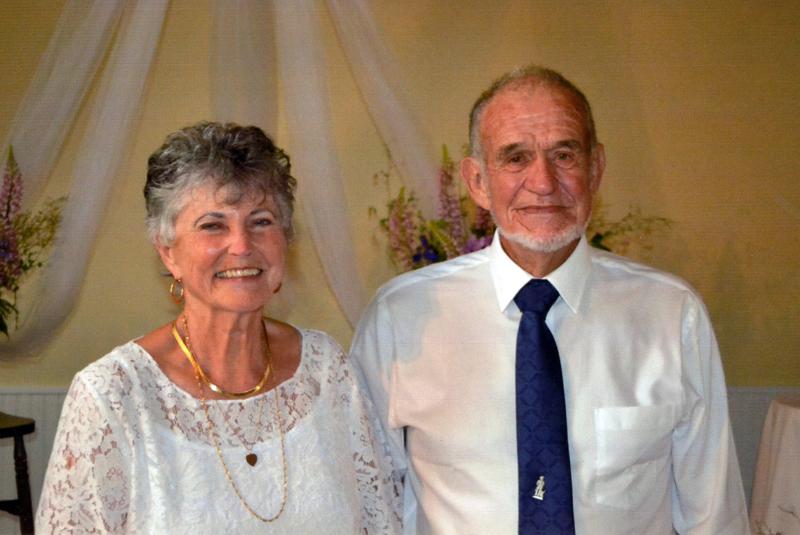 Joyce Bisset and Avon Buzzell
