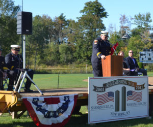 Firefighters Remember 9/11 at Boothbay Harbor Memorial Service