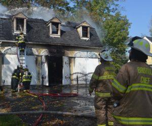 Fire Destroys Bristol Blacksmith's Workshop