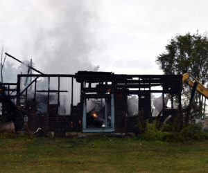 Family of Six Escapes Fire at 1850s Farmhouse in Whitefield