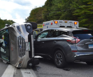Illegal U-turn Results in Two-Vehicle Accident on Route 1 in Newcastle