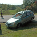 No Apparent Injuries in Rollover on East Pond Road in Nobleboro