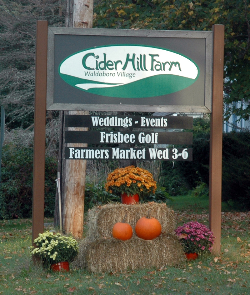 The Waldoboro Farmers Market is considering a move away from Cider Hill Farm on Main Street. (Alexander Violo photo)