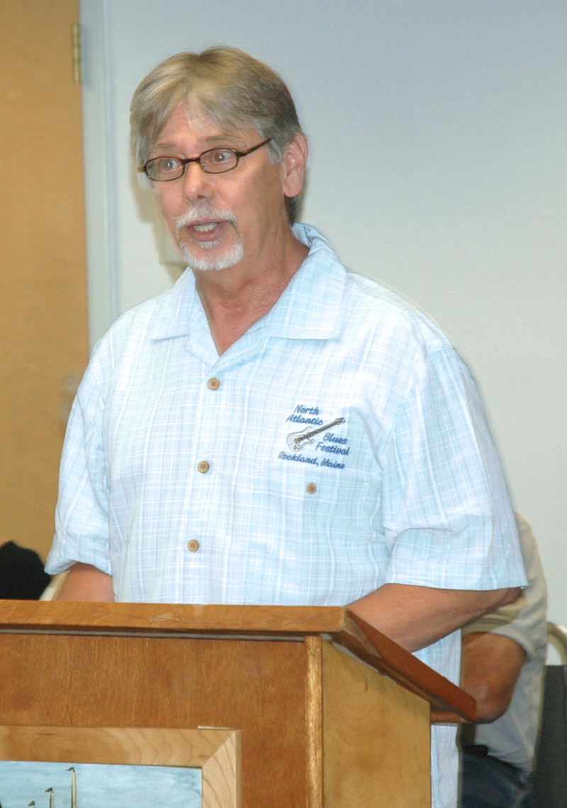 Waldoboro Economic Development Committee Chair Jan Visser said the committee's renewable energy subcommittee is recommending that the town pursue the installation of a solar array at the town's landfill. (Alexander Violo photo)