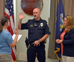 Wiscasset Swears in New Police Sergeant