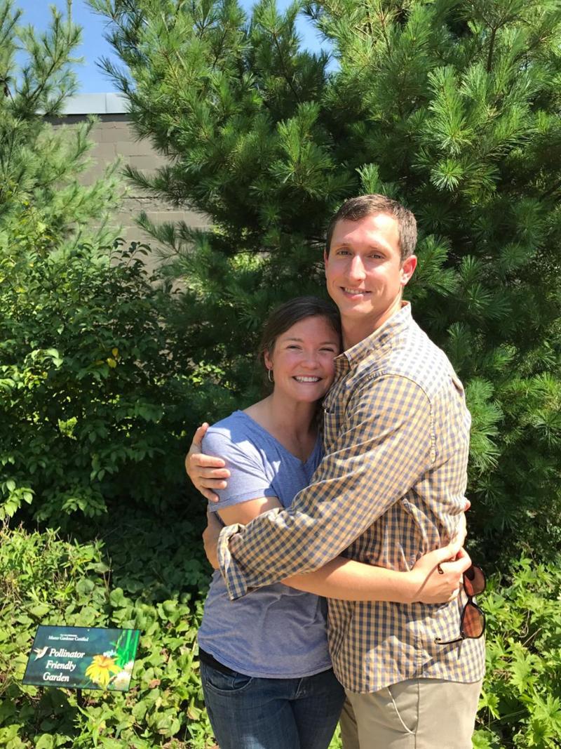 Erica Averill and Randall Smith