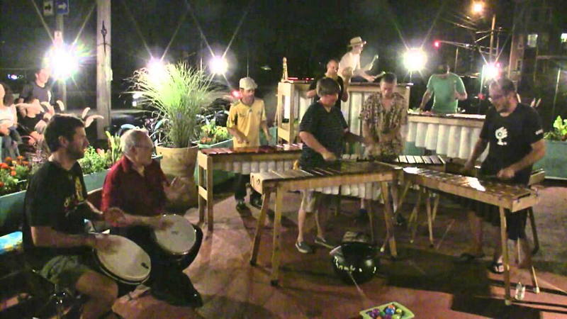 The Maine Marimba Ensemble (Photo courtesy Rick Cormier)