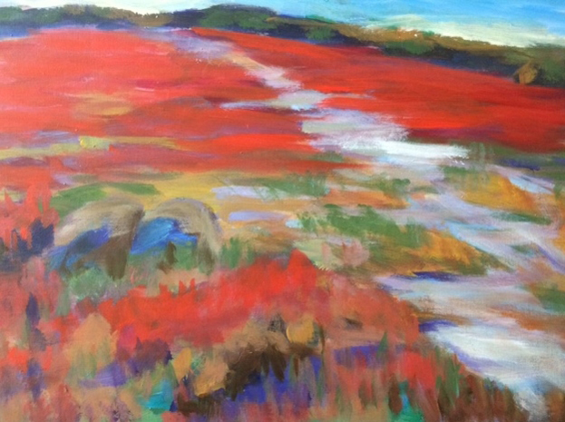 "Mark Lazzari's ""Fall Barrens"""