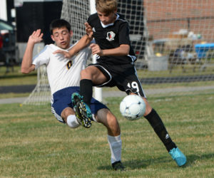 """<span class=""""entry-title-primary"""">Panthers lock into double overtime tie</span> <span class=""""entry-subtitle"""">Medomak 2 - Lincoln 2</span>"""