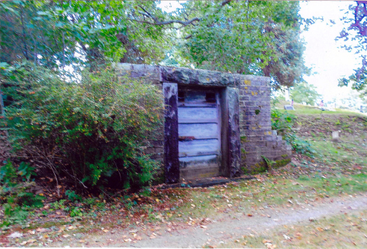 The tomb at Sheepscot Cemetery. (Photo courtesy Arlene Cole)