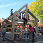 Timber Frame Course Offers More Than Just Woodworking