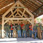 Timber Frame Workshop at Hidden Valley Nature Center
