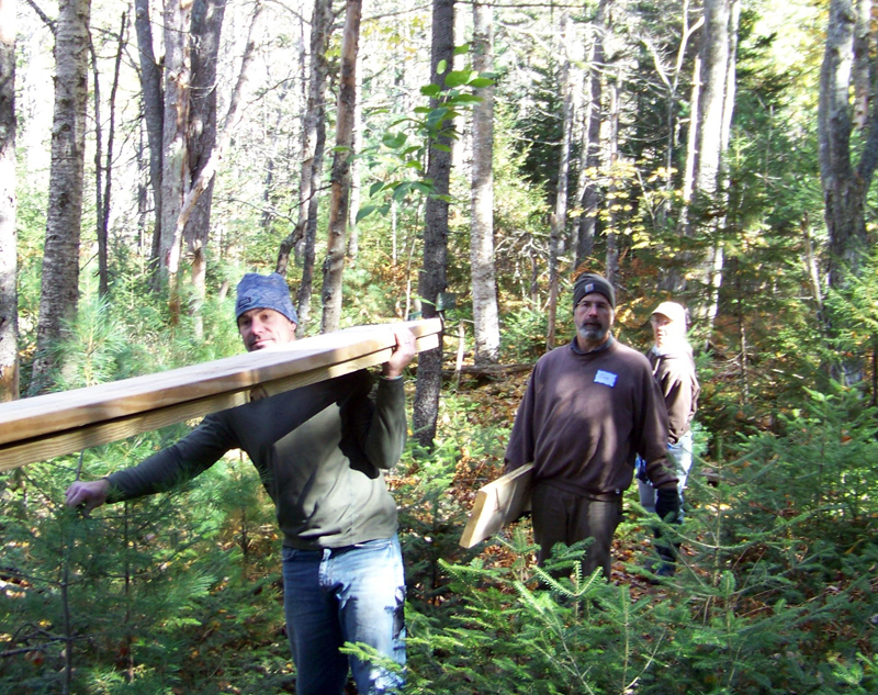 Volunteers are needed to help get the trails at Crooked Farm Preserve in tip-top shape.