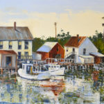 Upcoming Art at Damariscotta River Grill